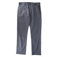 Hurley Mens DRI-FIT Worker Pants Grey 33 New