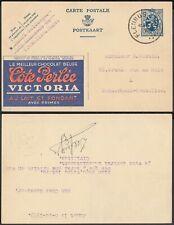 Belgium 1933- Postal stationary on postcard.Chocolat/Cacao.( 8G-34848) Mv-5070