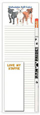 Staffordshire Bull Terrier Notepad & Pencil Gift Set