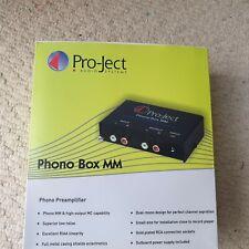 Pro-Ject Phono Box MM.  Phono/Pre-Amp (MM).  Brand New
