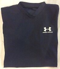 UNDER ARMOUR Boys S/S Fitted Top athletic T-Shirt YLG Base Layer EUC
