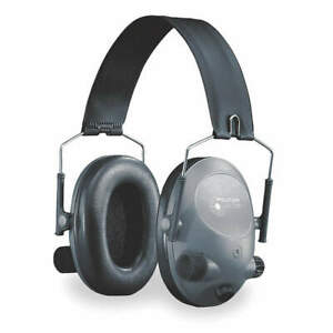 3M MT15H67FB-01 Electronic Ear Muff,19dB,Over-the-Head