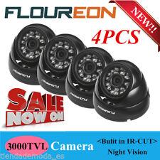 4X 3000TVL AHD CCTV Camera Dome Home Surveillance Security System 1080P Cameras