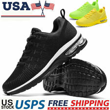 Men's Air Cushion Running Sneakers Casual Athletic Trainers Tennis Shoes Walking