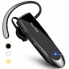 Bluetooth Earpiece V5.0 Wireless Handsfree Headset with Microphone - Black