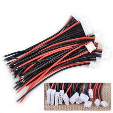 12stk 1s 2s 3s 4s 5s 6s Balancekabel Stecker Buchsenleiste Lipo Akku Adapter NEU