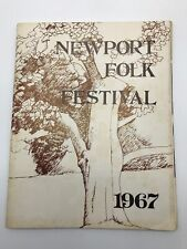 Newport Folk Festival 1967 Concert Program RARE