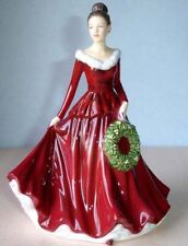 Royal Doulton Mistletoe And Wine Christmas Songs #5701 New In Box