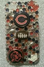 Chicago BearS NFL bling case 4 iPhone 4s,5,5s,5c,6,Samsung Galaxy S3,S4&S5