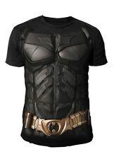 DC Comics - Batman Arkham Knight Herren T-Shirt - Kostüm Suit (Schwarz) (S-XL)