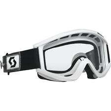 Scott USA RECOIL Xi SPEED STRAP Goggles WHITE/CLEAR Lens AFC 217797
