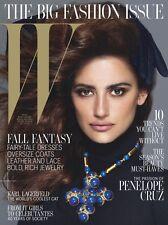 W Magazine,Penelope Cruz,Karl,Eniko Mihalik,Saskia de Brauw,Anna Dello Russo