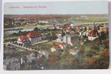 29805 AK Dresden Loschwitz Blasewitz Kirche Häuser Villen Gärten Brücke 1916