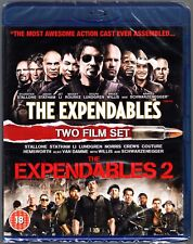 The EXPENDABLES 1 & 2 BLU RAY SET SYLVESTER STALLONE REGION B (AUS)