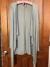 Isabella Oliver Maternity Duck Blue Waterfall Cardigan S