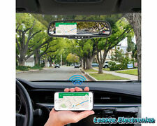 Rear View Mirror Monitor w DVR, Bluetooth & Wifi Phone Mirroring by Accelvision
