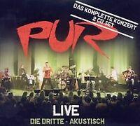 Live-die Dritte (Akustisch) von Pur   CD   Zustand gut