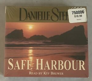 Safe Harbour by Danielle Steel Audiobook (5 Audio CDs, 2003) Abridged New Sealed