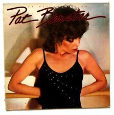 PAT BENATAR Crimes of Passion Disque LP VINYL 33 T CHE 1275 France 1980