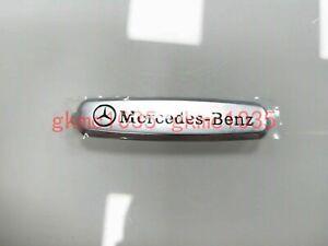 "Metal ""Mercedes Benz"" Logo Emblems Front Seat Tuning Badge For Mercedes-Benz"