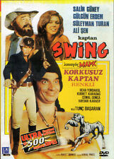 Captain Swing the Fearless DVD Onar Films Tunç Basaran Turkish Fantastic Cinema