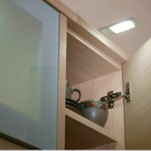Sensio 3 x Quadra Plus-O Slimline Designer Surface LED Lights