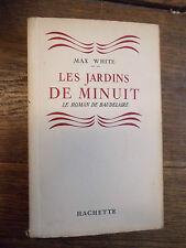 les jardins de minuit - le roman de Baudelaire par Max White