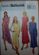 Butterick 4064 Misses & Misses Petite Top & Skirt Special Occasion Sizes 8-10-12
