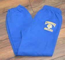 Boys Blue Lyndhurst Soccer Sweatpants Size Large Gildan Heavy Blend