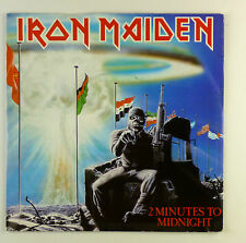 """7"""" Single - Iron Maiden - 2 Minutes To Midnight - #S1088 - washed & cleaned"""