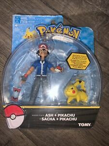 Pokemon ASH and PIKACHU Action Figure Tomy