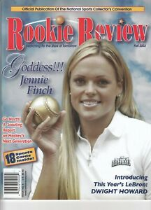 03 ROOKIE REVIEW OFFICIAL PUBLICATION THE NATIONAL w 18 ROOKIE CARDS RC MAGAZINE