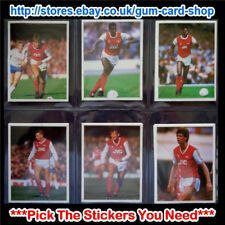 ☆ Daily Mirror 1986-87 Stick With Soccer (Teams A to L) *Please Select Stickers*