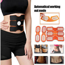 Electrical Muscle Simulation Body ABS Fit High Conductivity 6pcs White Gel Sheet