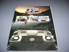 VINTAGE..ARGO 6-WHEELERS/ATV. ORIGINAL COLOR SALES BROCHURE..RARE! (757L)