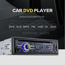 Car DVD MP3 Player Stereo Radio Player w/ In-Dash FM Aux Input SD/USB Port V6A2
