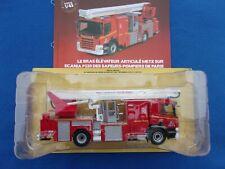 accessoire 1//43 lot de caisses resine pompier divers