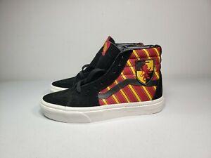 VANS Off The Wall Men's HARRY POTTER Gryffindor SK8-Hi Shoes MEN 7 WOMEN 8.5 NEW