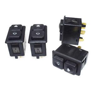 Set 4 pcs Illuminated Power Window Switch For BMW E23 E24 E28 E30 61311381205