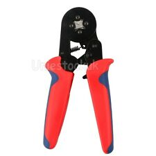 0.25-6mm² Bootlace Crimper Hexagonal Terminal Ferrule Crimping Pliers Tool