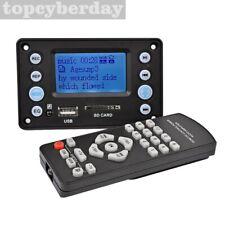 LCD MP3 Decoder Board Bluetooth4.2 Audio Receiver Recording Sound Lyrics Display