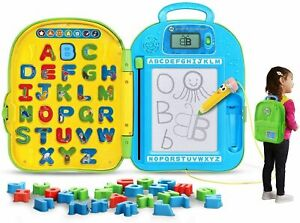 LeapFrog Mr. Pencil's ABC Backpack, Preschool Learning Phonics Toy New (Open Box