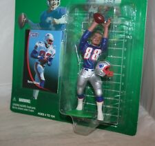 1998 NFL Starting Lineup TERRY GLENN New England Patriots Rookie Figure Card MIP