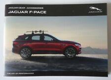 JAGUAR F PACE orig 2018 UK Mkt Accessories & Gear 36pp Sales Brochure