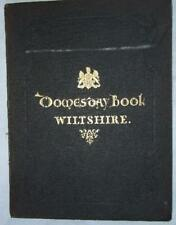 Domesday Book, Wiltshire, Ordnance Survey Office Facsimile, 1862 Folio