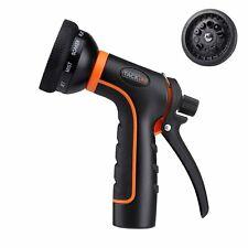 TACKLIFE Garden Hose Nozzle/Spray Nozzle 10 Patterns Water Nozzle/High Pressure/