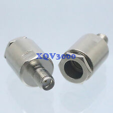 2pcs Connector Sma female Jack pin clamp for Rg5 Rg6 Lmr300 Rg304 Rf Coaxial