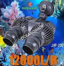 BOMBA RECIRCULACION 12000L/H JVP-202 24W SIMULADOR OLAS ACUARIO MARINO CICLIDOS