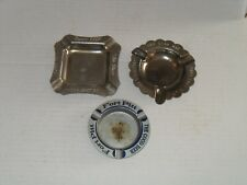 Fort Pitt Beer Ashtrays Pittsburgh Pa lot of 3 Ashtrays