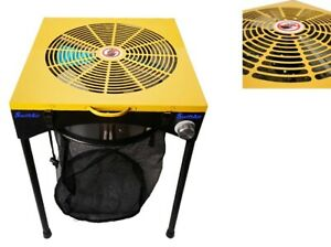 """18"""" Quick Trim Hydroponic Grow Room 18 inch Powered Leaf Bud Table Trimmer"""